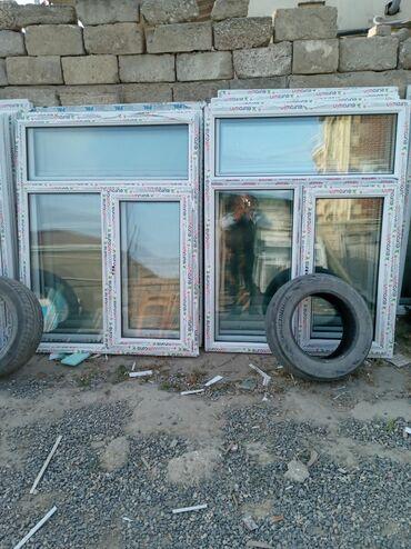 120×154=90 manat zeng edin teze plastik pencere Bine Qesebesi