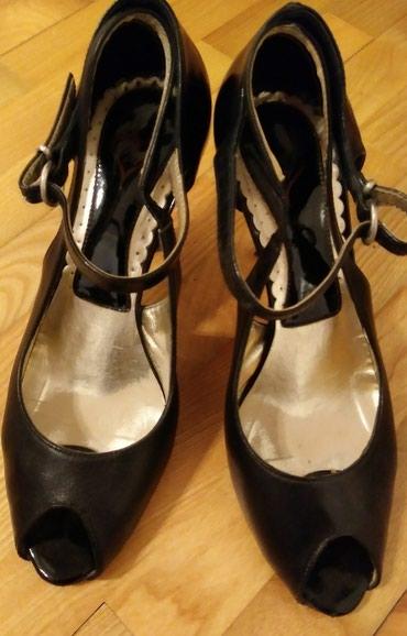 Туфли-босоножки. Кожа комбинированная с лаком. 40 размер в Bakı