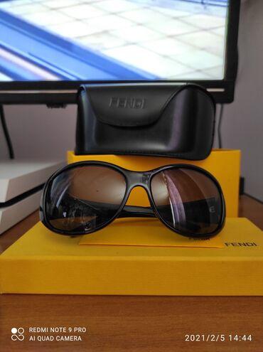 Личные вещи - Кыргызстан: Продаю солнцезащитные очки от fendi со штатов. Оригинал. Обмен не