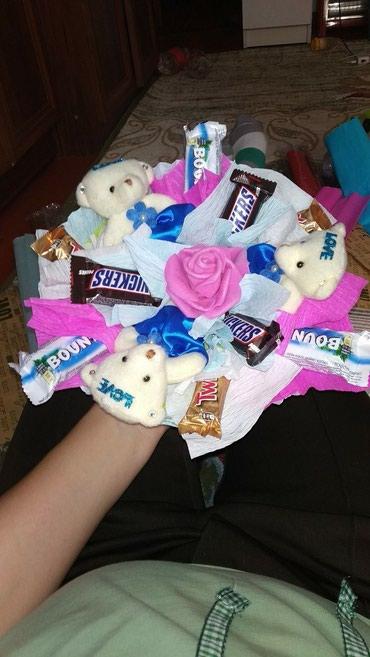 Букет из сладостей. Букет из шоколада. в Бишкек