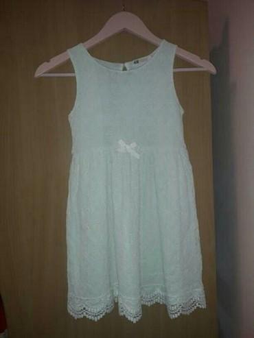 •bela cipkana haljina jednom nosena - Subotica