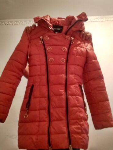 Куртка зимняя девочкам 9; 10 лет парк раз одевала почти новый