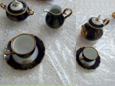 servizi - Azərbaycan: 6 nəfərlik kobalt çay servizi