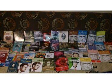 Knjige od naših pisaca pesme, priče, romani, putopisi, filmska