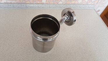 Контейнер ведёрко размер 12см×9см аксессуар для ванной комнаты для