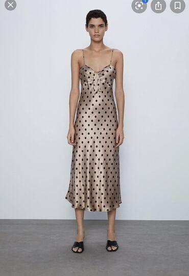 Платье Коктейльное Zara S
