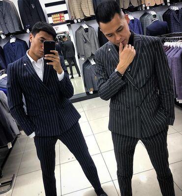 Продаю чёткий костюм, двойка!!! Размер XL, рост 165/175! Состояние как