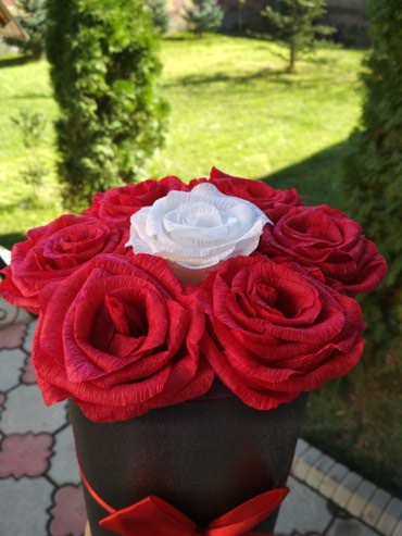 Цветы ручной работы в Бишкек
