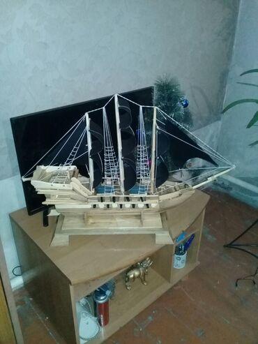 веб модел в Кыргызстан: Корабль  Тонкая ручная работа Для ценителей  Дерево орех Сувенирный