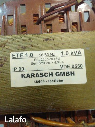 Trafo-stabilizator napona,primar 230v +-5℅,sekundar 230v,snaga 1 kw. - Crvenka