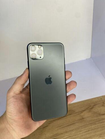 iphone 11 pro цена ош in Кыргызстан   APPLE IPHONE: IPhone 11 Pro Max   256 ГБ   Зеленый Б/У   Гарантия
