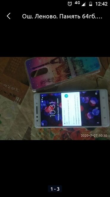 Lenovo - Кыргызстан: Lenovo K8 not 64гб 3500сом батарея менять надо