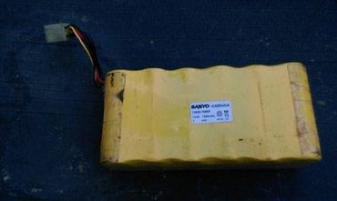 Baterija punjiva Sanyo .. Ni- cd 14.4 V 7000mAh.. ispravna - Zrenjanin