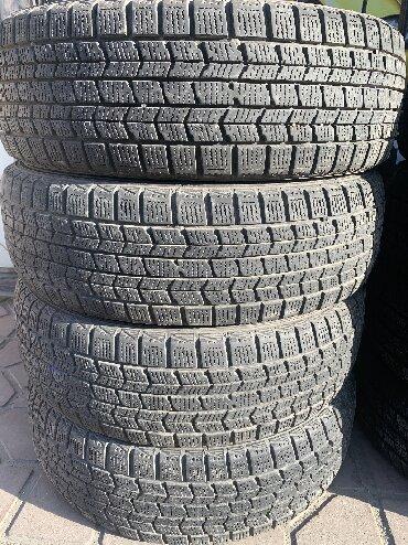 Комплект 205/60/16 Dunlop. Зима, липучка В отличном состоянии в Бишкек