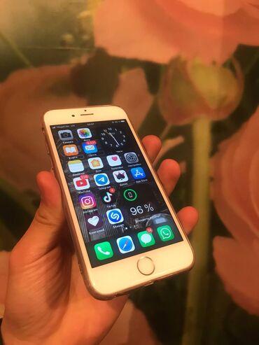 Apple Iphone - Бишкек: Б/У iPhone 6s 16 ГБ Золотой