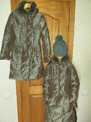 детская куртка в Кыргызстан: Пуховик оригинал Франция.Pierre Cardin.Water proof.2 размера 30 и 32.Д