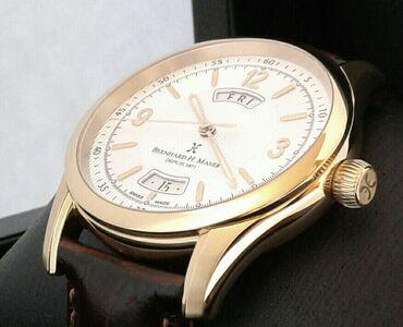 """Saat """"Bernhard H. Mayer""""YENİOrijinal İsveçrə saatı. Cəmi 500 ədəd"""