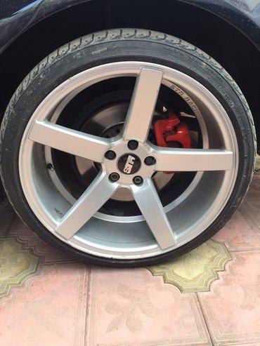 audi-allroad-25-tdi - Azərbaycan: Audi r20 str sport disklər çatsız svarkasız top kimi disklərdi qiymətd