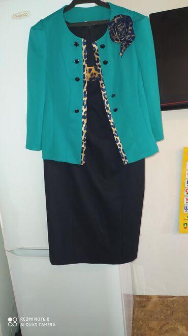 чёрное платье размер 50 52 в Кыргызстан: Продается платья, куртка кожаная размеры 50,52 сарафаны размеры 44