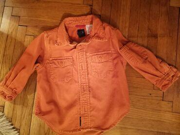 Dečija odeća i obuća - Smederevska Palanka: Gap, somotske, deblja košulja za dečake. Vel 2 Kao nova