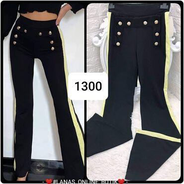 Pantalone Zvonarice Crne S m l