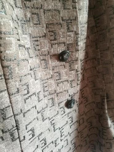 Трикотажную двойку - Кыргызстан: Продаю новый костюм двойку-юбка+жакет. Индивидуальный дизайн,сшито на