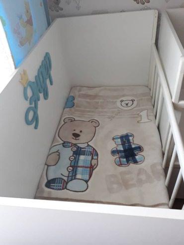 Детская кроватка с матрасом. в Лебединовка