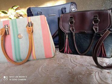 Личные вещи - Александровка: 3 сумки за 1000 сом . сумки очень качественные и хорошего состояния