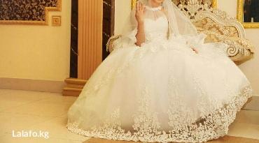 Личные вещи - Кыргызстан: Продаю свадебное платье. после химчистки! Одевали один раз