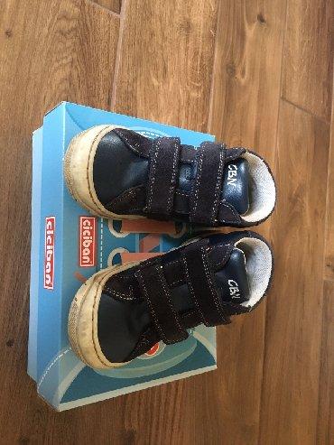 Dečija odeća i obuća - Lajkovac: Ciciban cipele br. 29, kožne, očuvane, samo je malo na peti izguljena