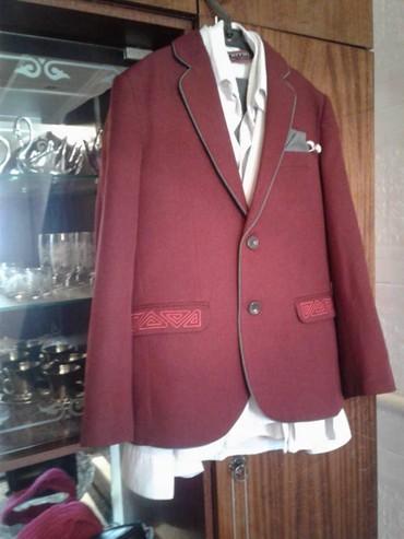 Школьная форма - Кыргызстан: Продаю костюм школьный для 6-7 кл, тройка(пиджак+брюки+рубашка)в
