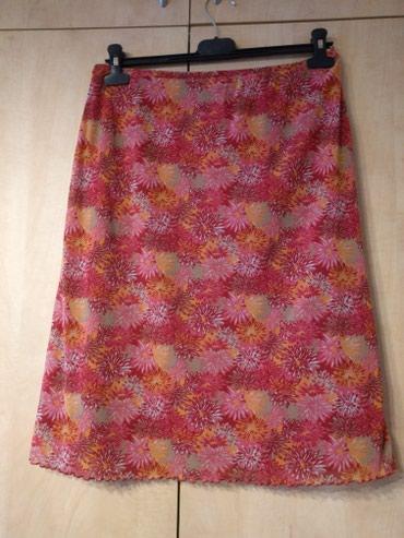 Mexx suknja sa podstavom L veličine, u struku guma, materijal - Palic