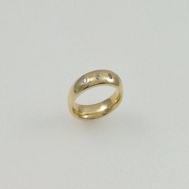 Обручальное кольцо из желтого золота в Бишкек