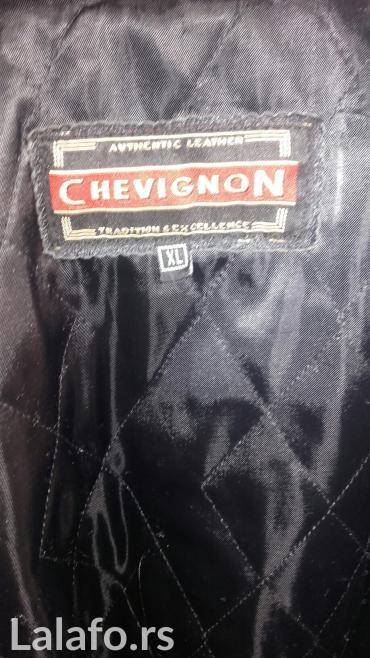 Kožni mantil Chevignon muški. Original.Bez oštećenja...vrlo malo - Belgrade