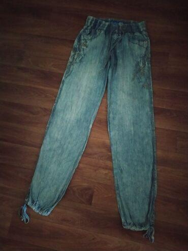 Штанишки,легкие,удобные под джинсу варёнку, материал штапель,одеты