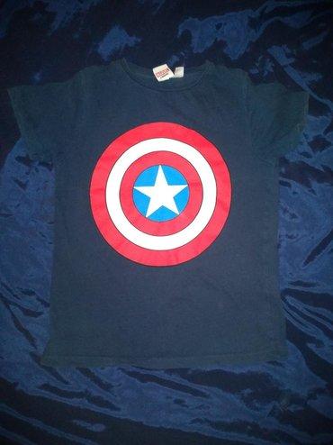 Majica captain america teget, 8-9 godina