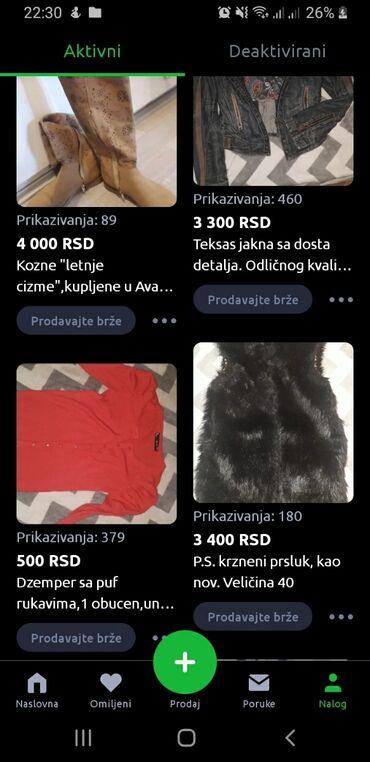 Sve stvari sa profila za 12.000 dinara. Lično preuzimanje u