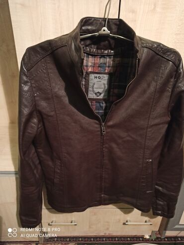 Коженая куртка 2XL почти новая