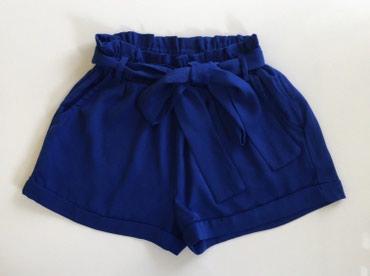 Plavi-leoparhulahopke-m - Srbija: Plavi ženski šorts, veličina 32/ S