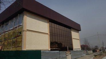 строй-мат в Кыргызстан: Утепляем фасады базальтом пенопластом с декор отделкой кирпичик