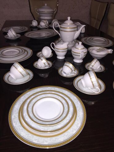 ✔285 man(Nerimanov)142 predmet Yemek cay kofe desti ile 12 neferlik