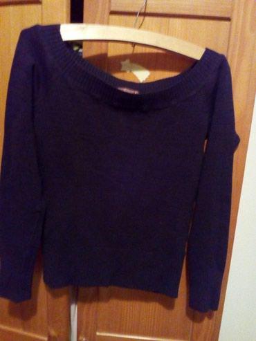 Personalni proizvodi | Ruma: Ženski džemper sa čamac izrezom, proizvodjač Terranova. Veoma prijatan