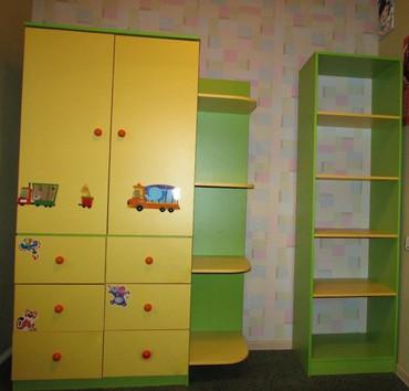 ☆ Мебель в детскую комнату - вместительный шкаф для одежды + шкаф