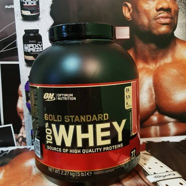 WHEY PROTEIN  OPTIMUM NUTRITION GOLD STANDARD 2.23KG - Borca