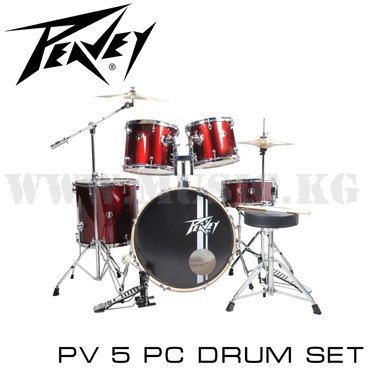 Барабаны акустические Peavey PV5 Полноценная барабанная установка