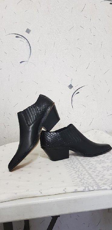 Модные, новые туфли, кожа . Прошитые внутренние резинки по бокам для