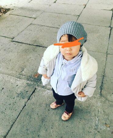детская осенняя одежда в Кыргызстан: Детская куртка zara girl,1,5-2 года,осень на теплую зиму, состояние