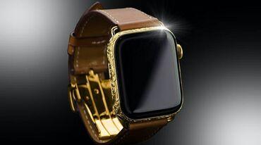 Личные вещи - Токмак: Белые Унисекс Наручные часы Apple