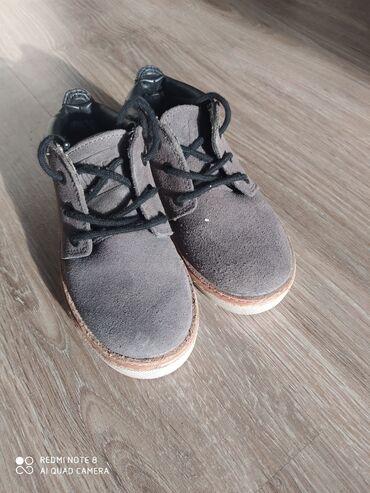 Ботиночки замшевые на мальчика zara, 25 размер