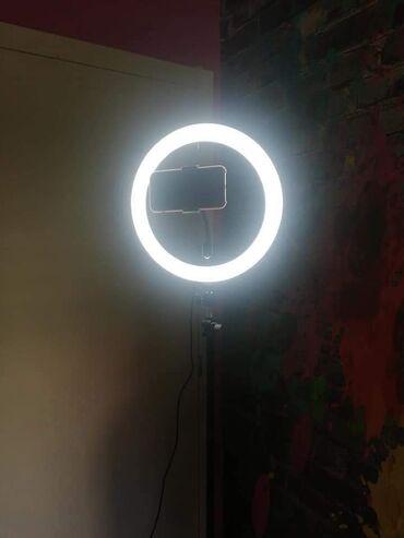 Kuća i bašta - Loznica: Ring light unutrasnjeg precnika 25 sa podesivim stalkom visine do